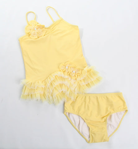 Isobella and Chloe Lemon Drop Tankini sz 6 mos & 9 mos only