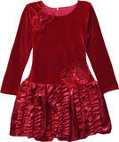 Isobella and Chloe Monet Dropwaist Dress Great for Holidays and Christmas sz 2T only