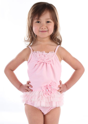 Isobella and Chloe Pearl Princess Tankini size 6m only