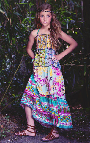 Jak and Peppar Garden Woodstock Maxi Dress