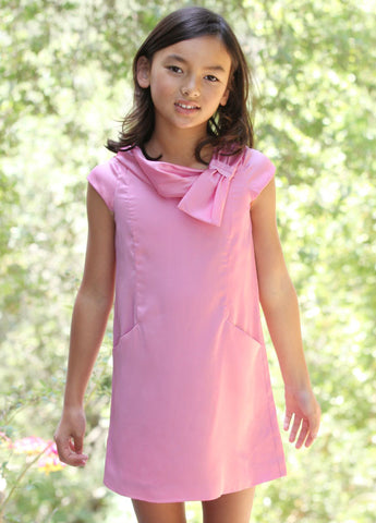 Joyfolie Lana Dress in Pink sz 2 to 7