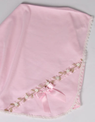 Katie Rose Faith Bree Blanket in Pink