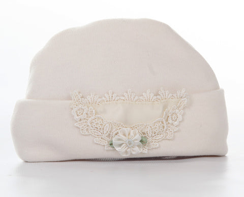 Katie Rose Ashley Hat in Ivory