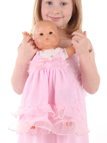 Laura Dare Frilly Pink Doll Gown
