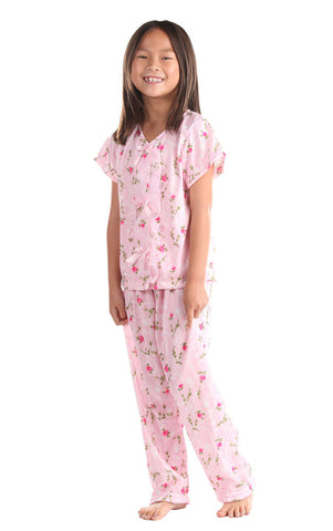 Laura Dare Sweet Rose Pajama Pants Set
