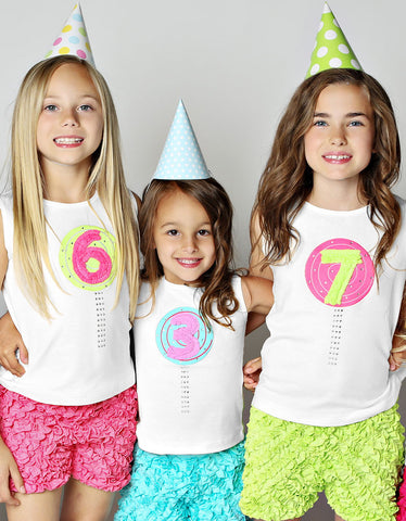 Lemon Loves Lime Birthday Tank (1-7 Years Old, Assorted Designs)