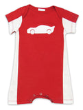 Lemon Loves Lime Speed Racer Romper for Baby Boys