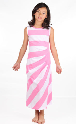 Lemon Loves Lime Be Bold Maxi Dress in Pink sz 4  only