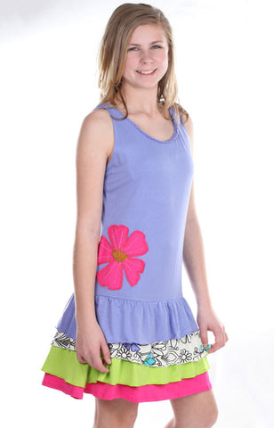 Limeapple Wildflower Dress sz 4 only
