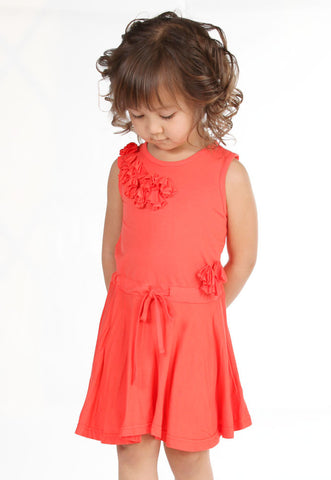Maeli Rose Soft and Silky Drawstring Dress sz 2T only