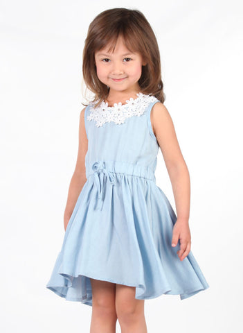 Maeli Rose Soft Denim Dress in Eco-Friendly Lyocell