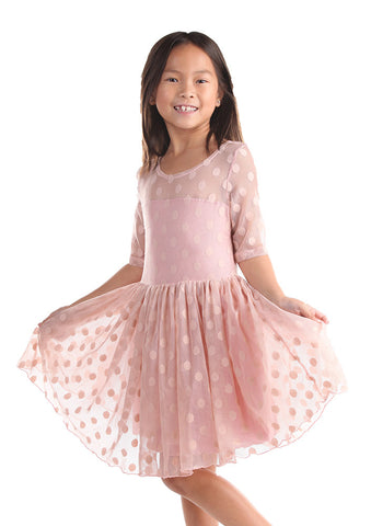 Five Loaves Two Fish Maiden of the West Dress in Blush Pink sz 12 14 & 16