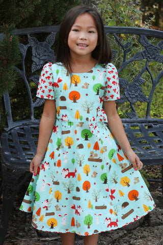 Malley Livie G Gnome Print Dress