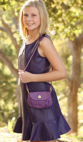 Milk and Soda Alice Mini Bag in Purple