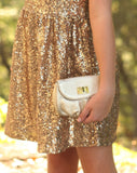 Milk and Soda Alice Mini Bag in Gold