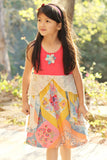 Mimi & Maggie Garden Walk Dress sz 6x only