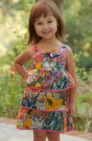 Mimi & Maggie Barcelona Sundress sz 12m 18m  only