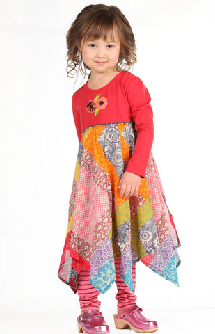Mimi & Maggie Windy Day Handkerchief Dress for Toddlers