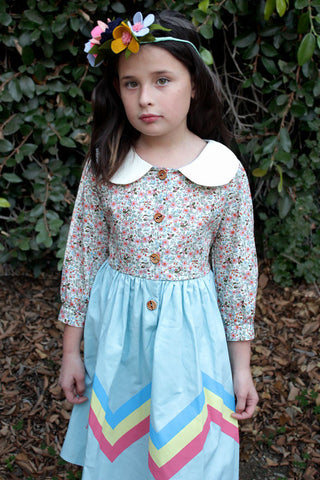 Misha Lulu Retro Moderno Dress for Tweens