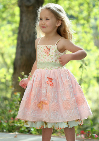Moxie & Mabel Paloma Dress in Country Fair  sz 4