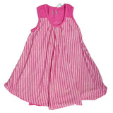 Nano A-Line Stripe Dress in Carnation sz 7