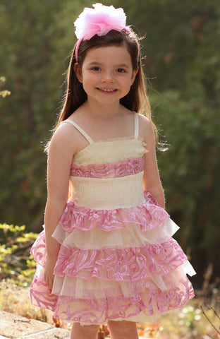 Ooh La La Couture Cake Dress in Pink Lady sz 12m 2T & 14 only