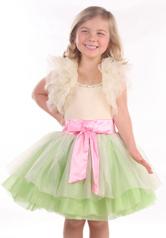 Ooh La La Couture Ruffle Shrug in Champagne