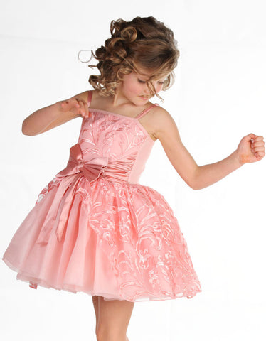 "Ooh La La Couture Jenna ""Cinderella"" Dress in Blush Pink"