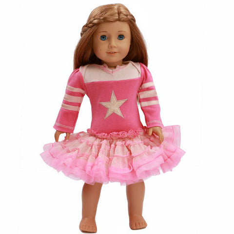 Ooh La La Couture Varsity Birthday Dress for Dolls