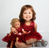 Ooh La La Couture Wow Dream Dress in Red for Dolls