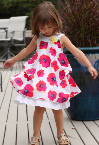 Petit Lem Marmalade Floral Swing Dress sz 2 & 3 & 4 only