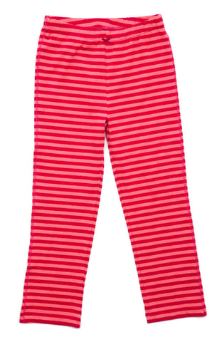 Pink Chicken Marrakech Stripe Leggings in Cerise