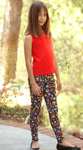 Cruz Social Butterfly Leggings in Jewels