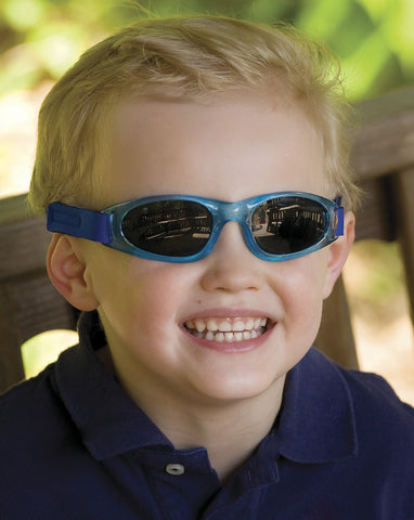 RKS Royal Blue Shades with Adjustable Band for Baby