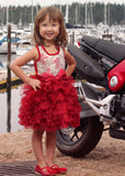 Ooh La La Couture Wow Dream Dress with Red Sequin Bows for Babies & Toddlers
