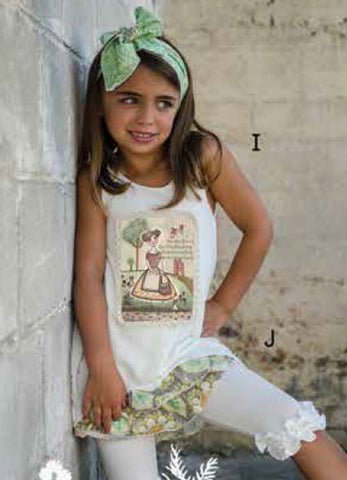 Sado Honey Bunny Vintage Girl Tunic