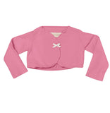Go Gently Baby Shrug in Geranium 4T only