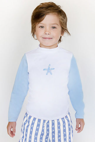 Stella Cove Starfish L/S Rash Guard