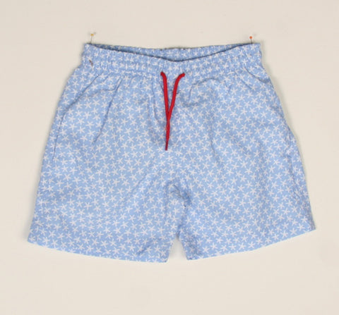 Stella Cove Starfish All Over Swim Trunks for Boys sz 4 only