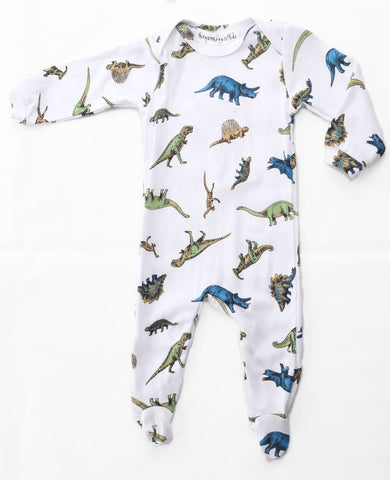 Thingamajiggies Dinosaur Footed Pajamas for Babies