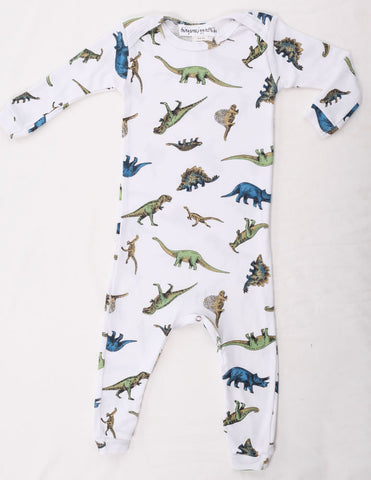 Thingamajiggies Dinosaur Longjohns Pajamas