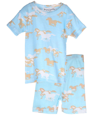 Thingamajiggies Pony Express Short Pajamas sz 2T & 4T & 4 & 16 only