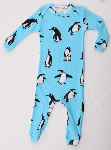 Thingamajiggies Penguins Longjohns Pajamas for Babies