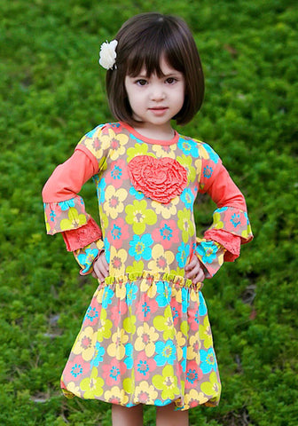 Trish Scully Feeling Groovy Bubble Heart Dress