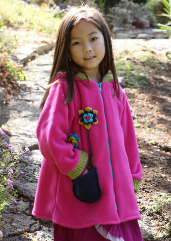Tuff Kookooshka Fleece Posie Hooded Coat