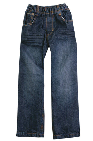 Wes and Willy Elastic Waist Slim Fit Denim Jeans for Boys sz 2T only
