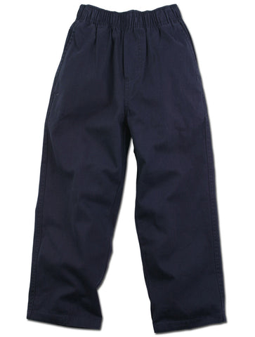 Wes and Willy Elastic Waist Chino Pants for Boys