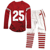Wes and Willy Christmas Football Style Pajamas for Women