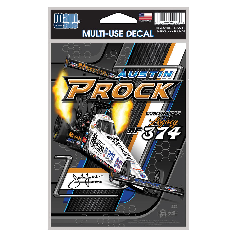 Montana Brand - Austin Prock - John Force Racing Vinyl Decal