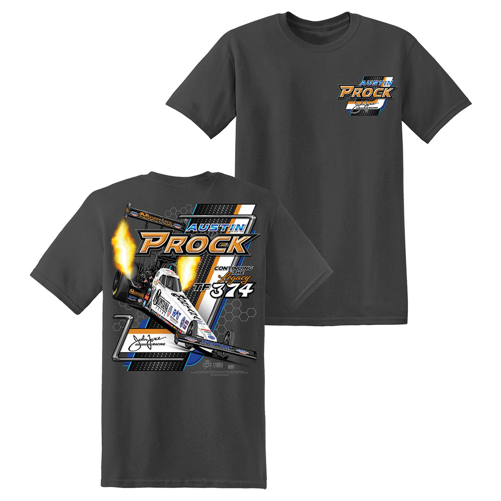 Montana Brand - Austin Prock - John Force Racing T-Shirt